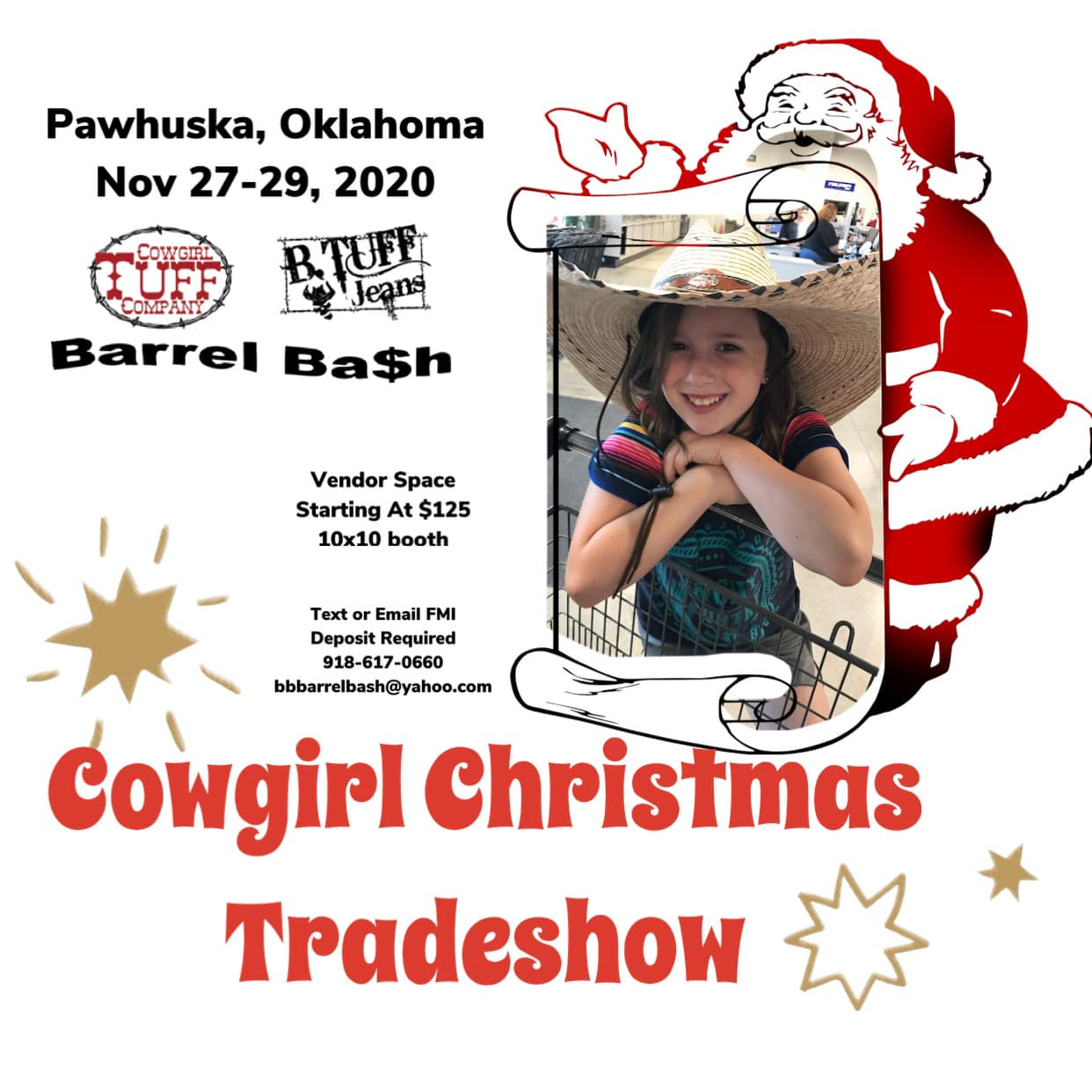 Pawhuska Trade show- Barrel Bash